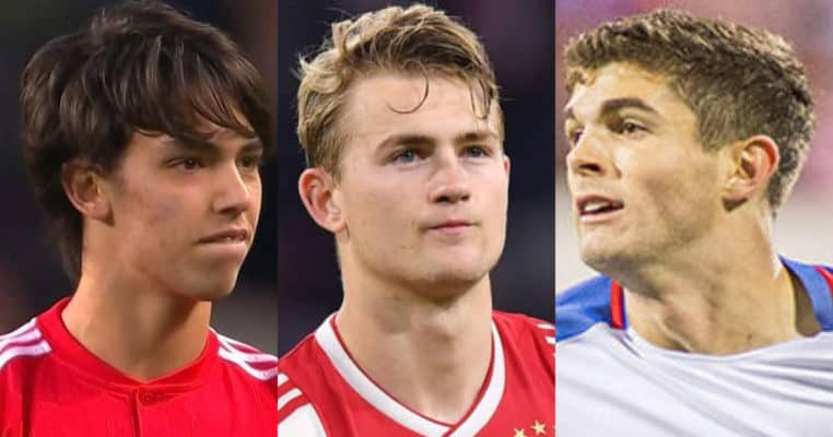 30 Promising Young Players In Soccer