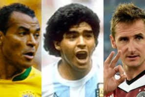 Top 30 Players In World Cup History